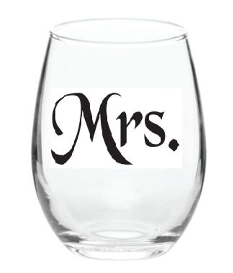 mrs. wine glass
