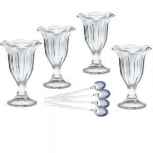 AH Sundae Glasses with Spoons Bundle