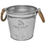 Anchor & Rope Bucket