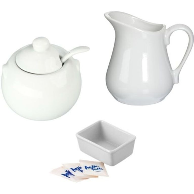 Porcelain Creamer & Sugar Set5
