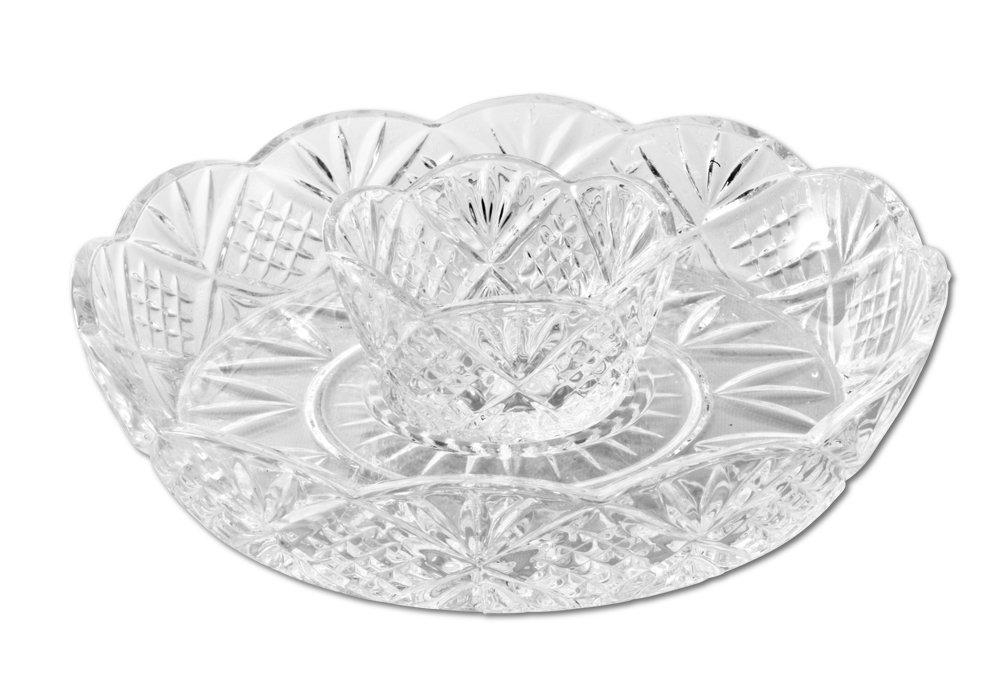 Pedestal Fans Blocking : Godinger dublin crystal mini chip dip rltsource llc