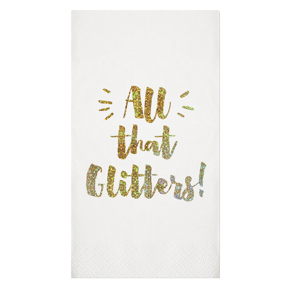 All that Glitters Guest Towels