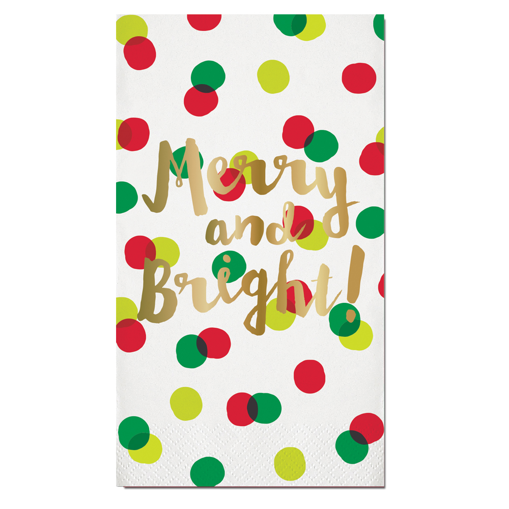 Merry & Bright Guest Towels