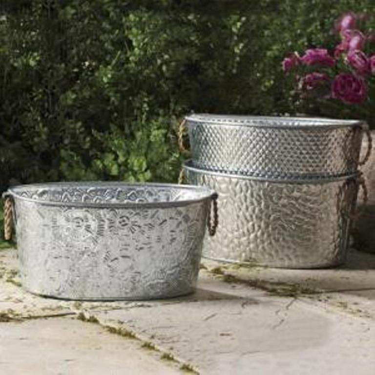 Galvanized Tubs Small